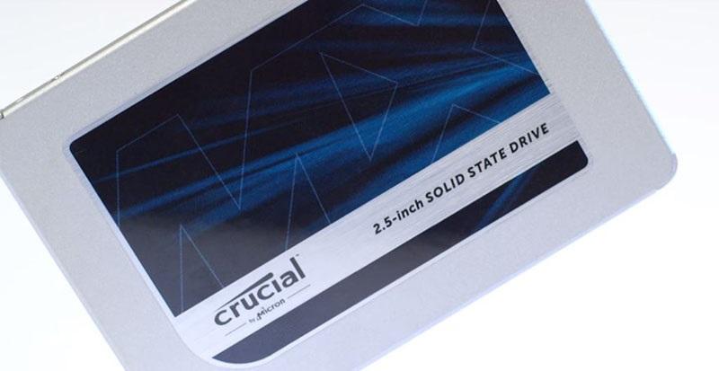 Levné SSD s pamětí 3D NAND? Crucial MX500 stojí za pozornost