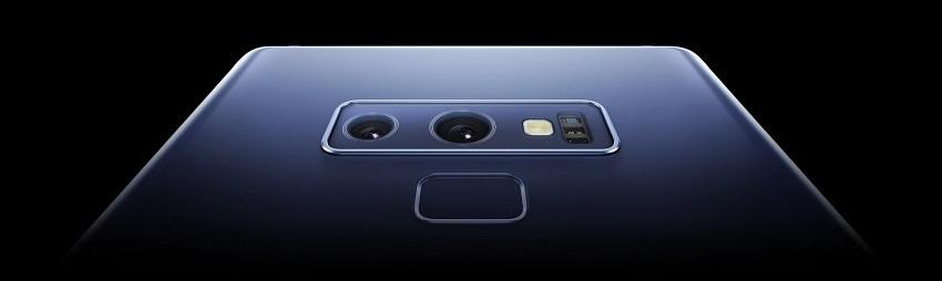 Samsung Galaxy Note9; čtečka otisků prstů; duální fotoaparát
