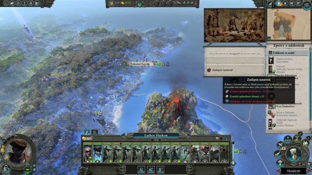 Total War: Warhammer II – Curse of the Vampire Coast; gameplay: záchvad