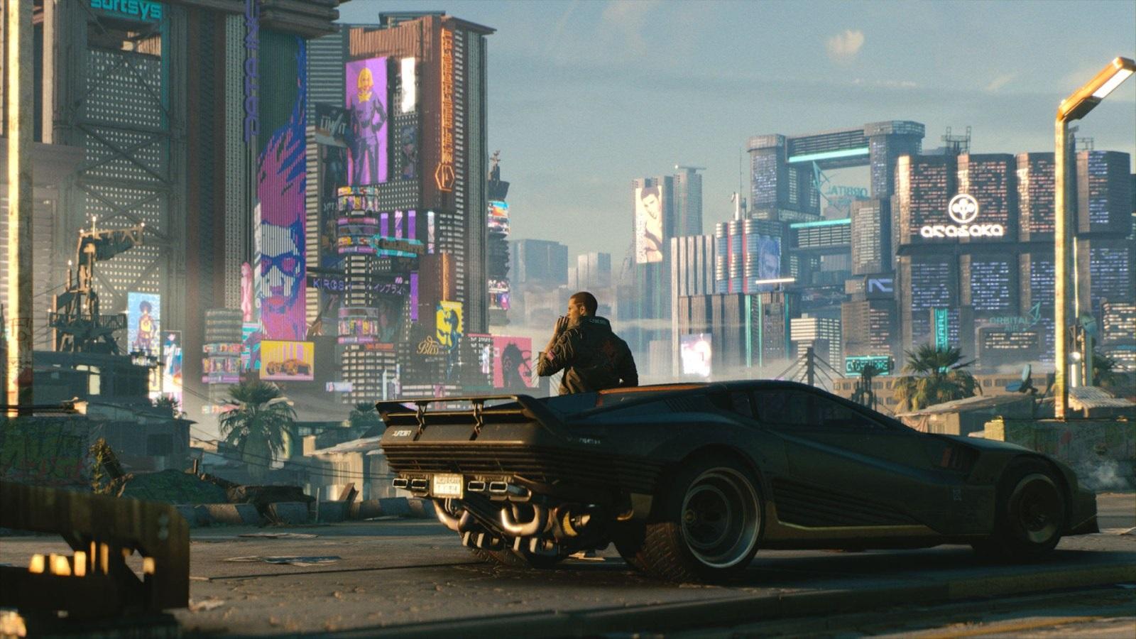 Nejočekávanější hry v roce 2019; Cyberpunk 2077, screenshot: město