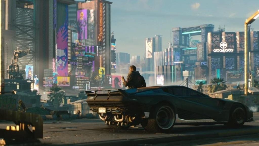 Xbox Two project Scarlett; screenshot: Cyberpunk 2077