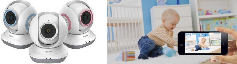 D-Link - sledování miminka
