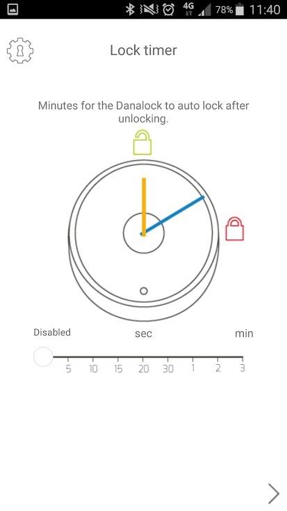Danalock App 3