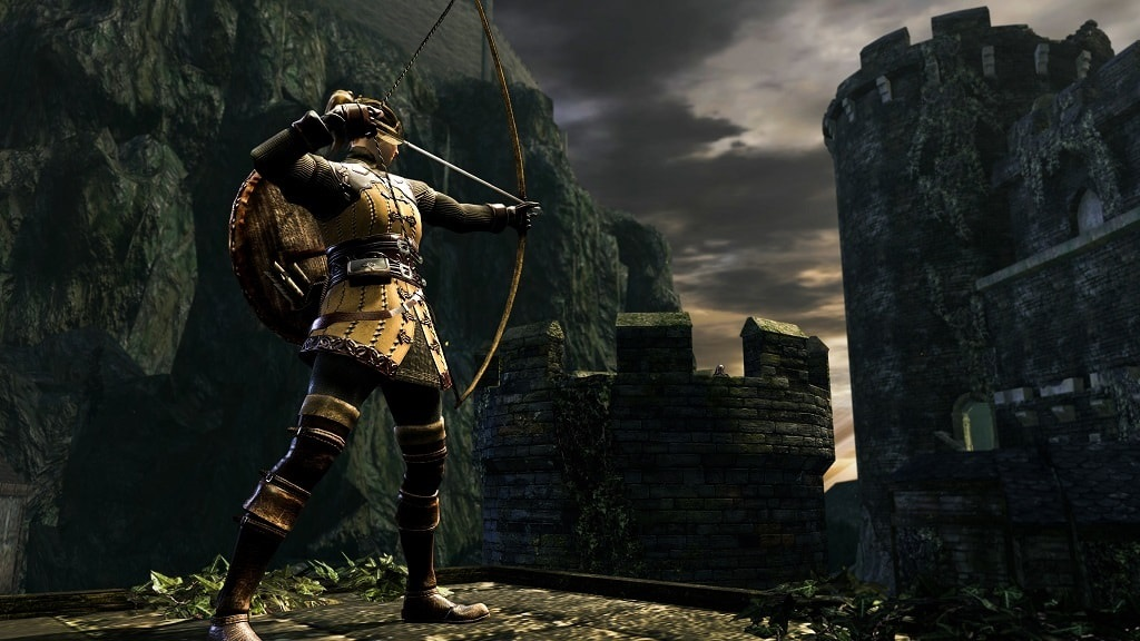 Dark Souls Remastered; Archery