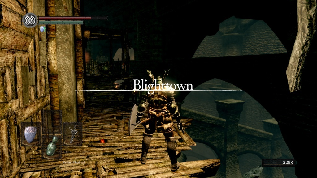Dark Souls: Remastered; gameplay: Blighttown