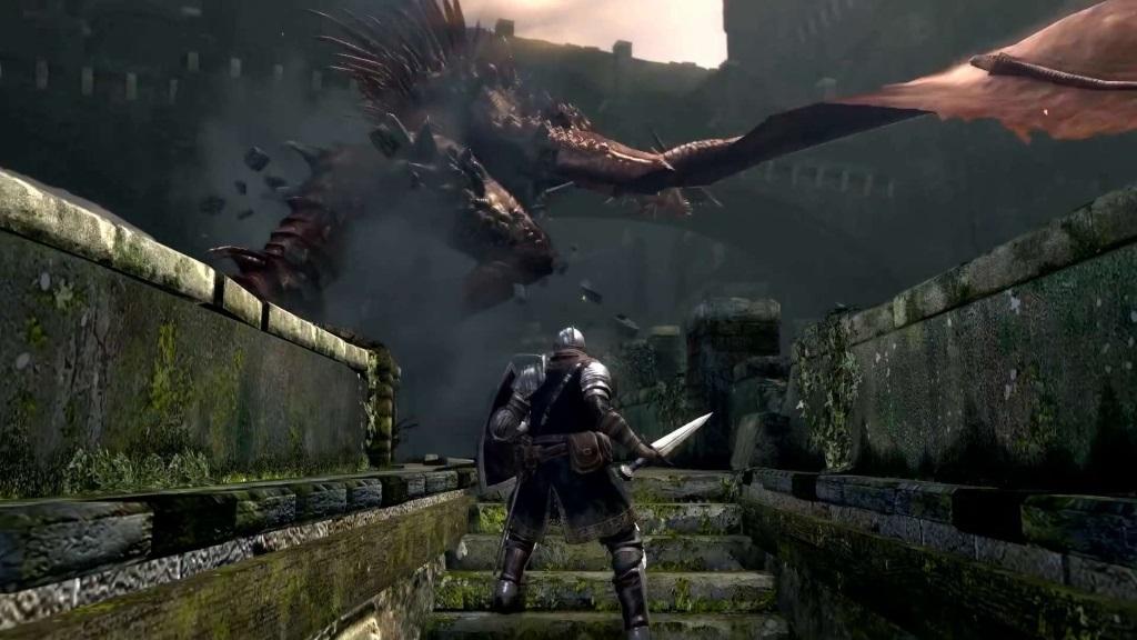 Nejočekávanější hry květen 2018; Dark Souls Remastered, gameplay: boss