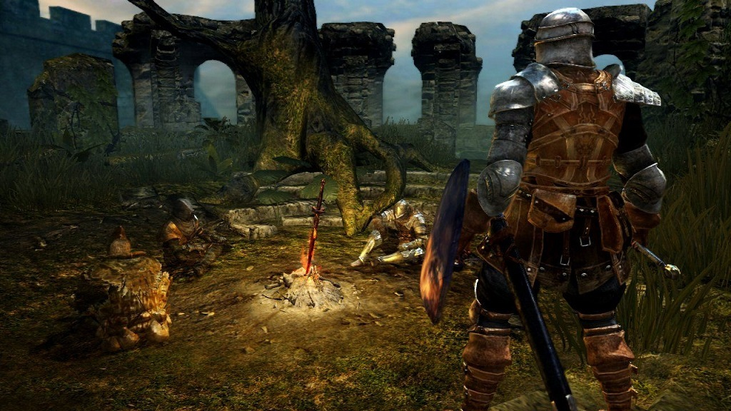 Dark Souls; Dark Souls 1, bonfire, hero