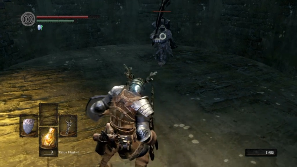Dark Souls: Remastered; gameplay: havel