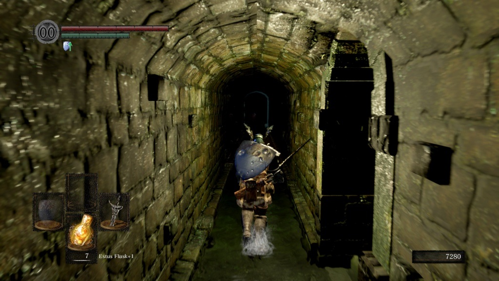Dark Souls: Remastered; gameplay: textury