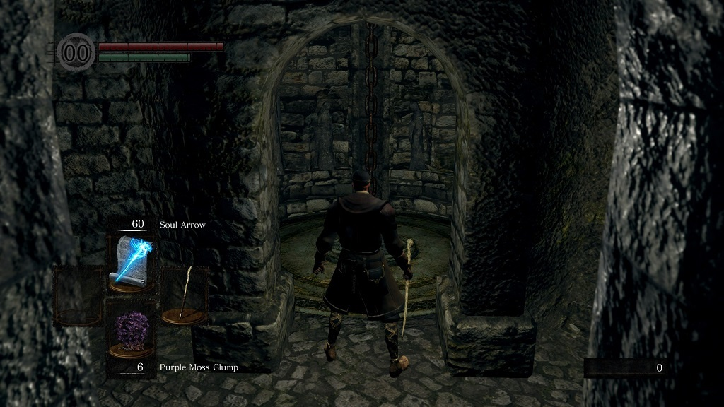 Dark Souls: Remastered; gameplay: Výtah