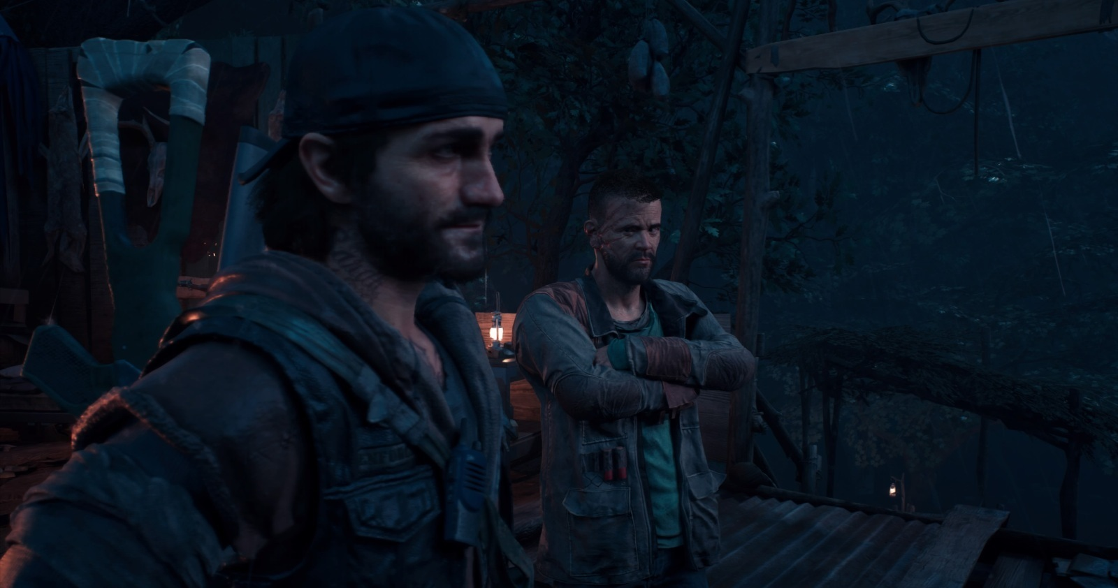 Days Gone; gameplay: camp