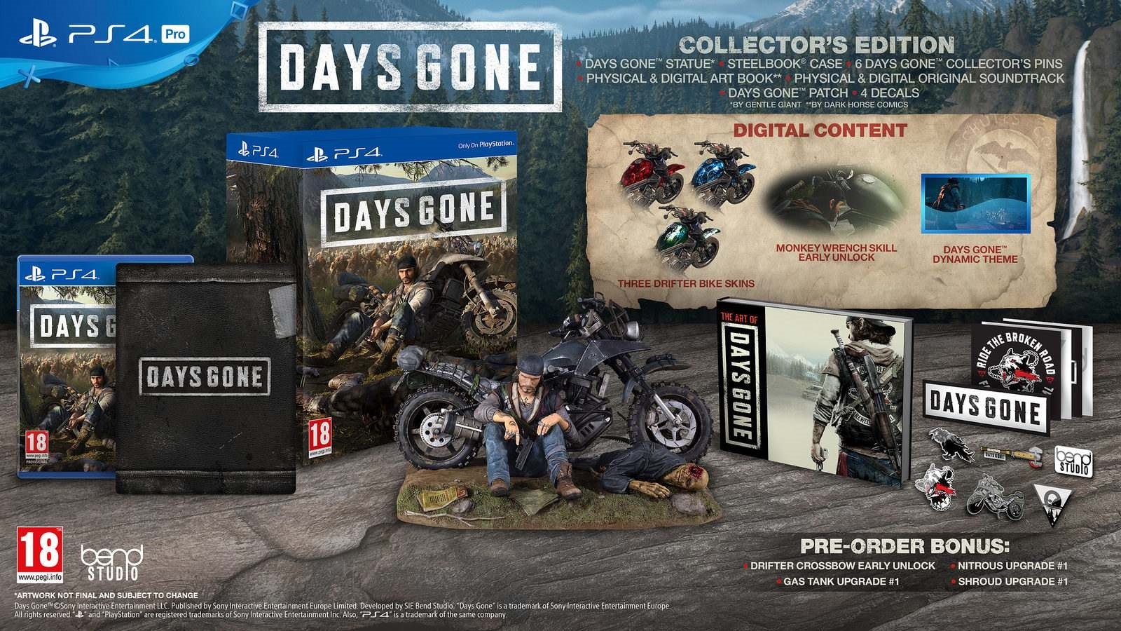 Days Gone; collectors edice