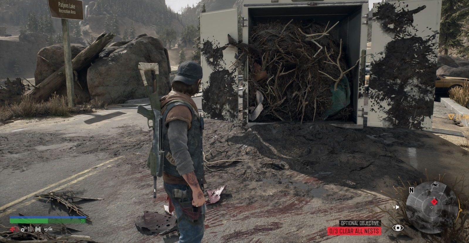Days Gone; gameplay: hnízda freakerů