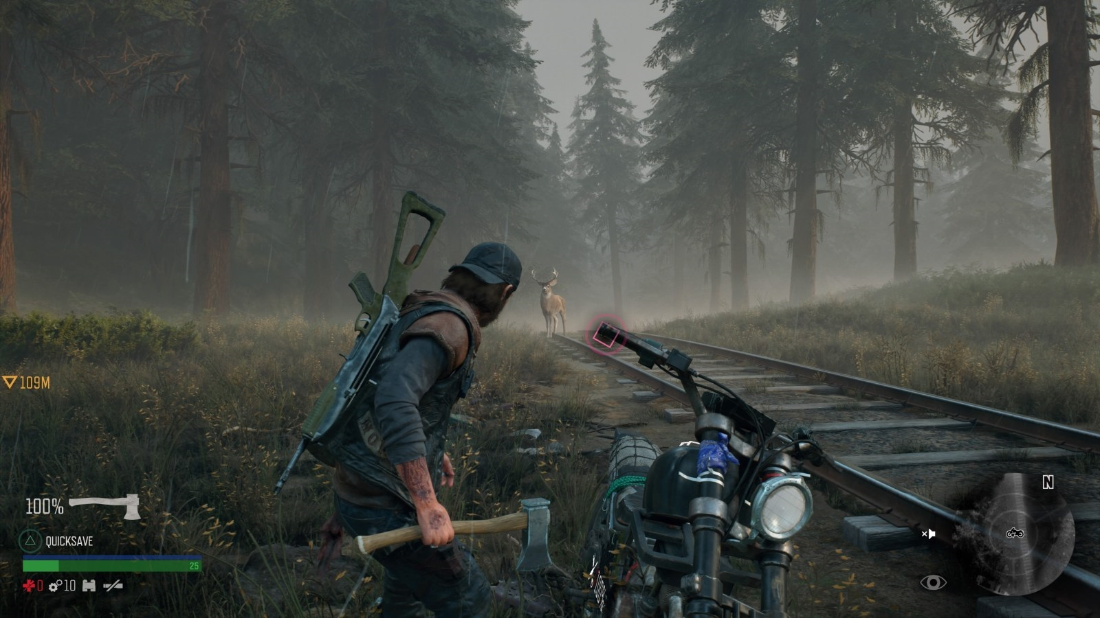 Days Gone; gameplay: Jelen