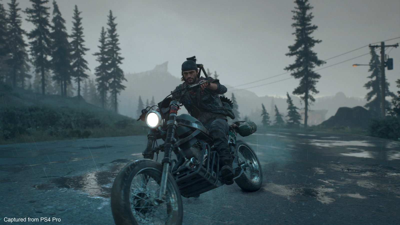 Days Gone; screenshot: Deacon na motorce