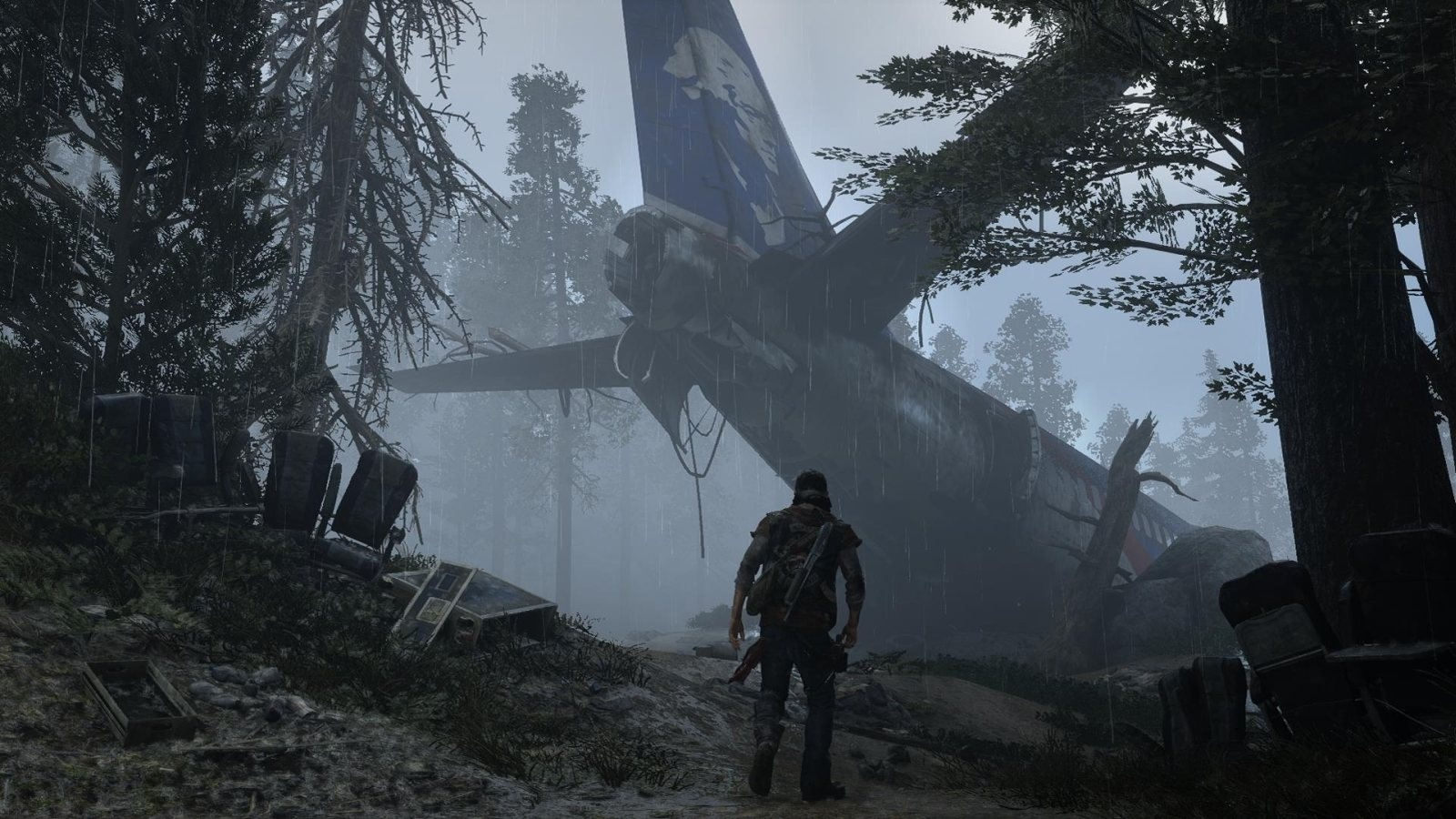 Days Gone; screenshot: letadlo