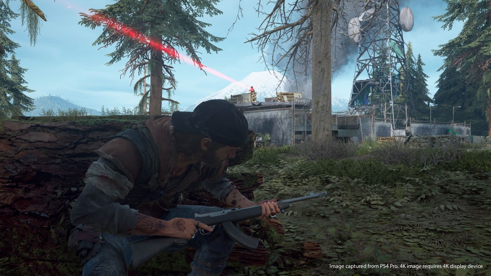 Days Gone; screenshot: nepřátelé