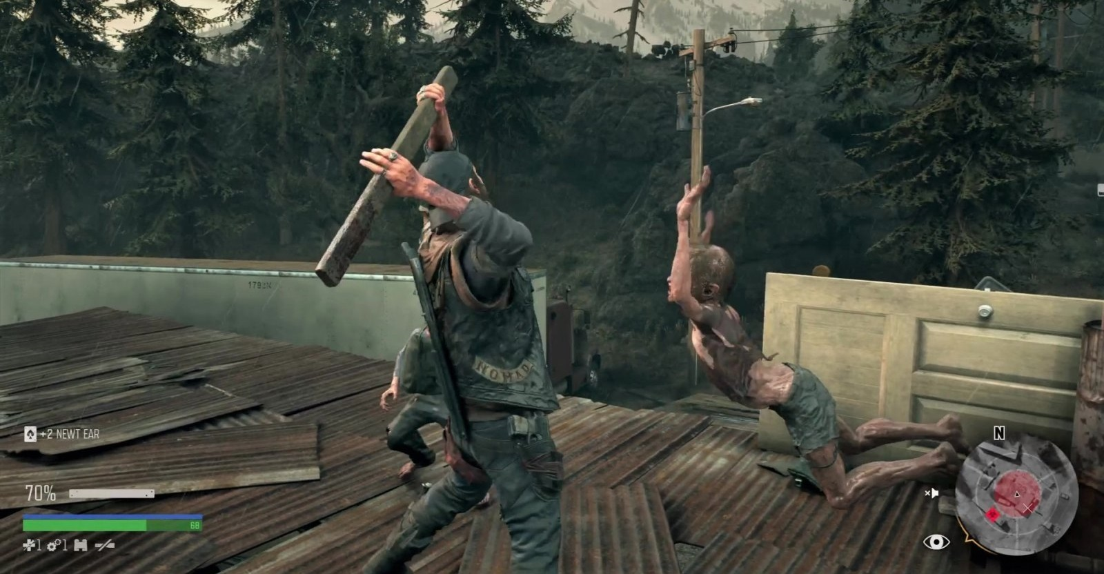 Days Gone; gameplay: Newt