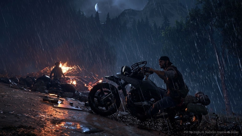 Days Gone; screenshot: počasí
