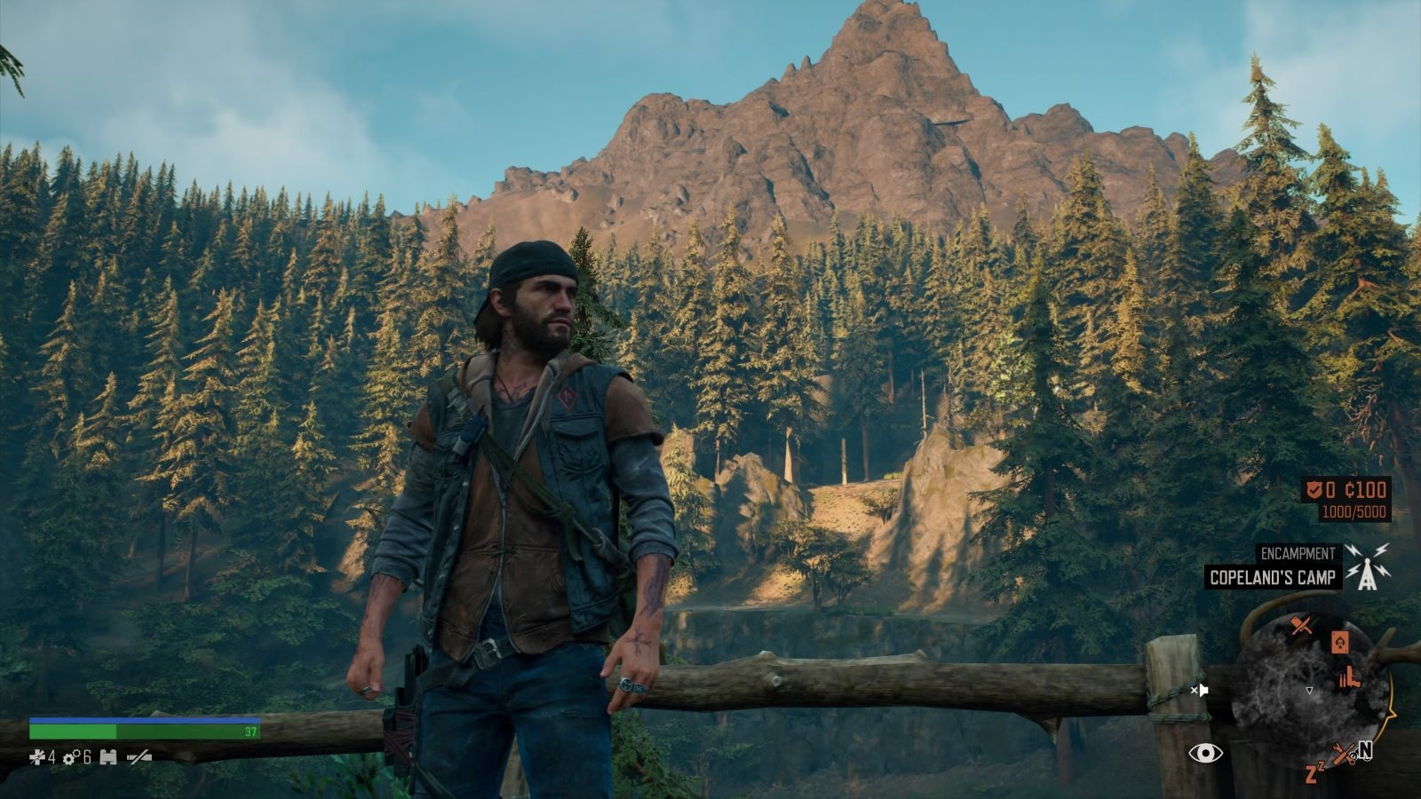 Days Gone; gameplay: scenérie