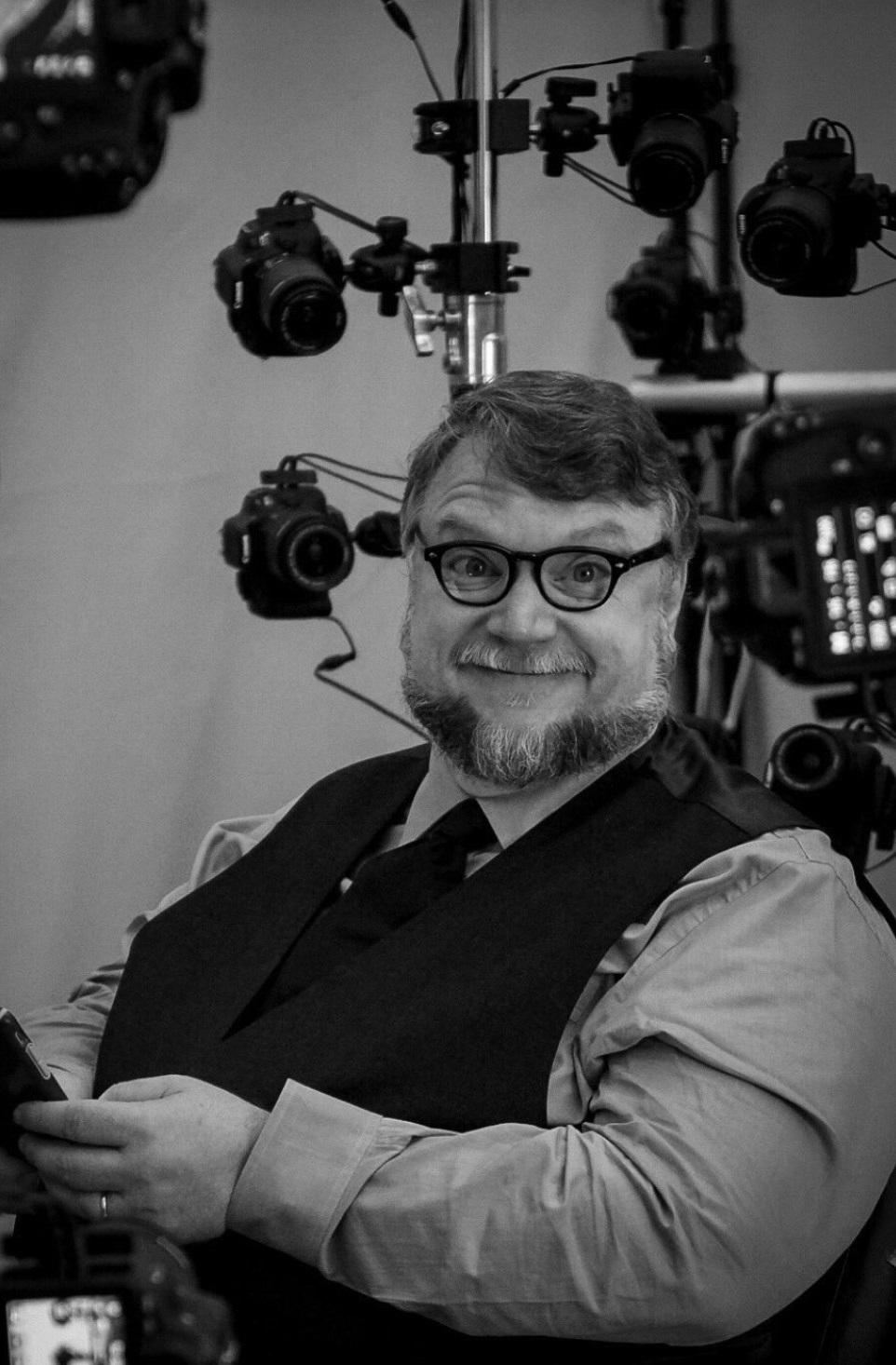 Death Stranding; screenshot: Guillermo del Toro motion capture