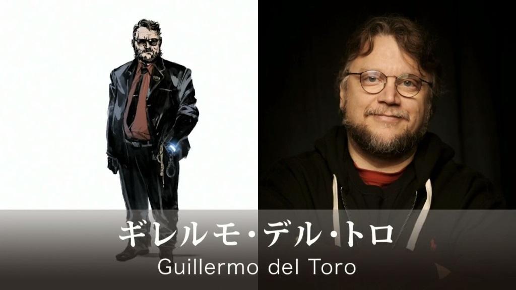 Death Stranding; screenshot: Guillermo del Toro