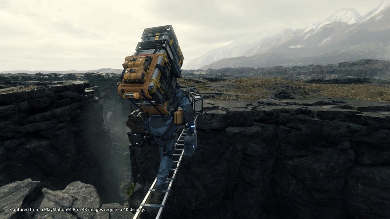 Nejočekávanější hry v roce 2019; Death Stranding, screenshot: most