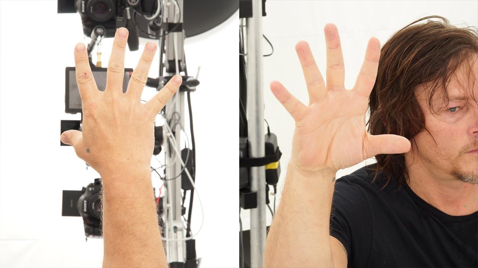 Death Stranding; screenshot: Norman Reedus motion capture