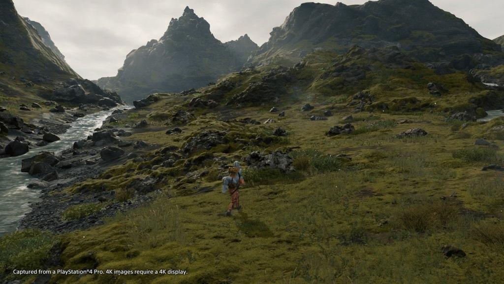 Death Stranding; screenshot: open world