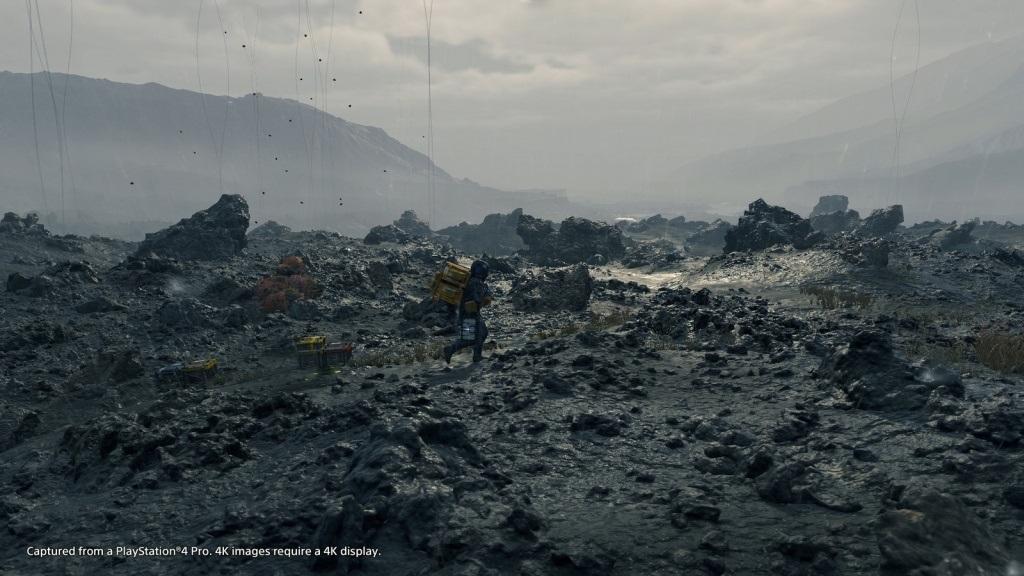 Death Stranding; screenshot: prostředí