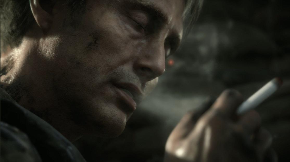 Death Stranding; screenshot: Mikkelsen trailer