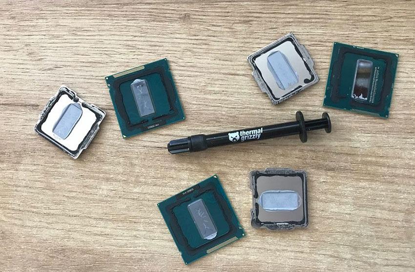 Intel procesory, delid, CPU