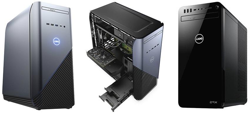 Dell Inspiron a XPS desktopy