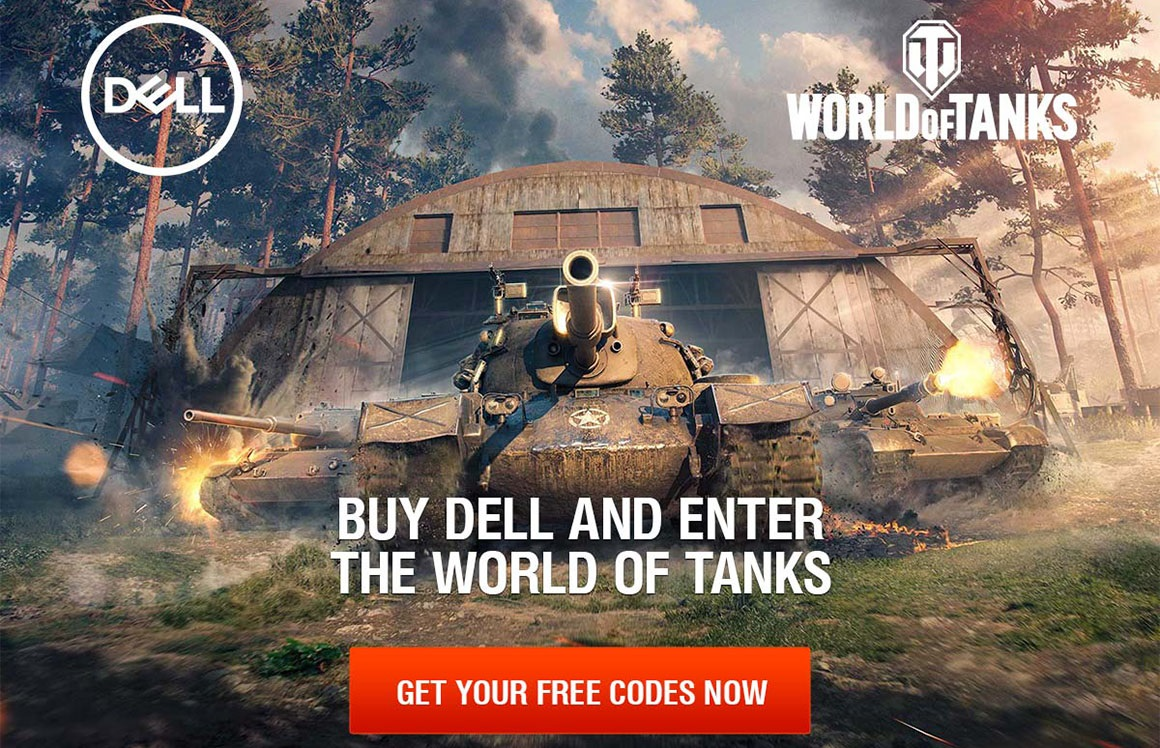 Dell World of Tanks Promo
