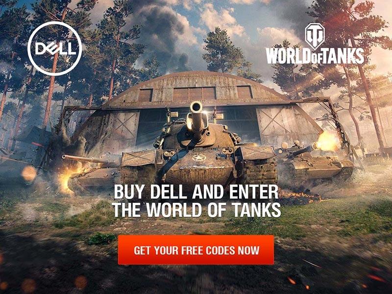 Dell vás vtáhne do boje ve World of Tanks!
