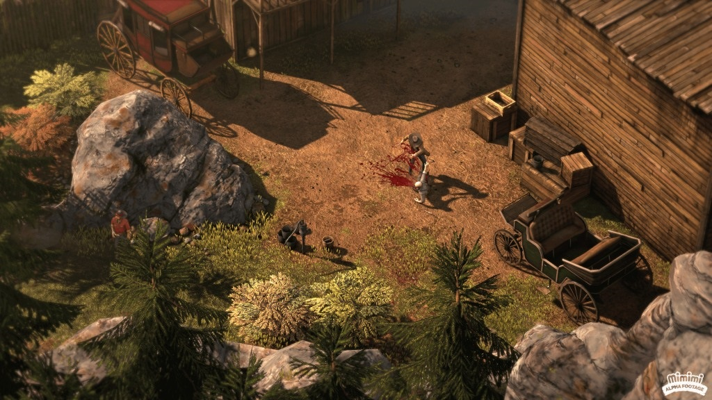Desperados III; screenshot: Hector