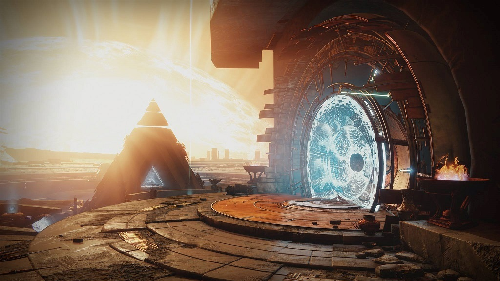 Destiny 2; Wallpaper: Gate, Mercury, Vex