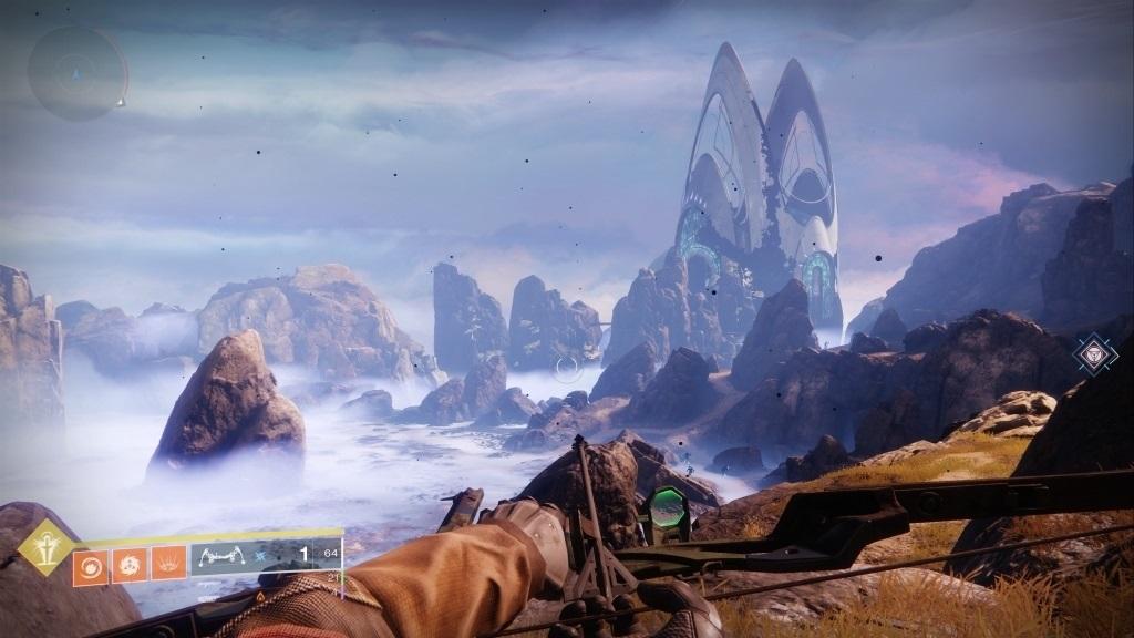 Nejlepší hry; Destiny 2: Forsaken; screenshot: Dreaming City