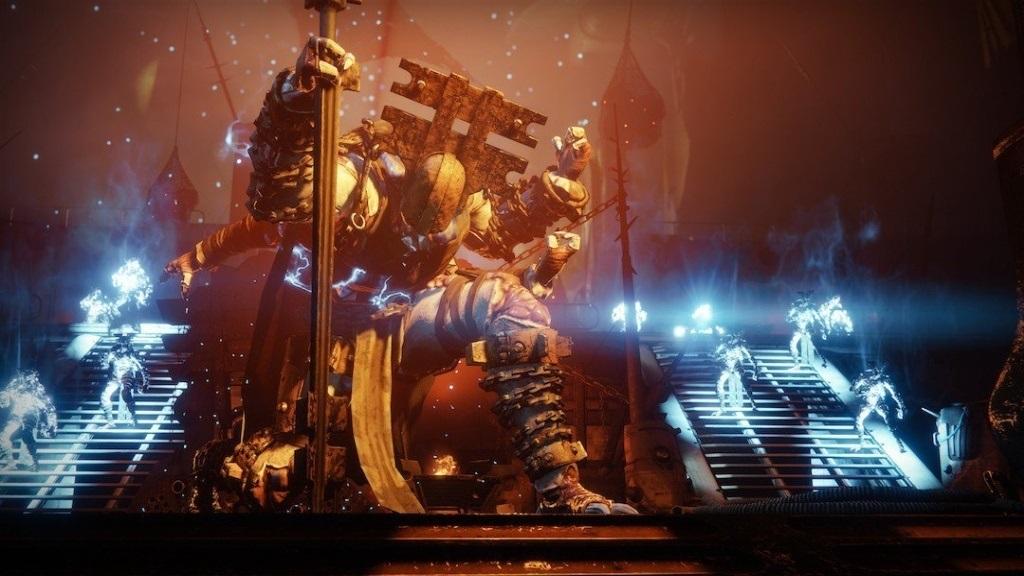 Nejlepší hry; Destiny 2: Forsaken; screenshot: Scorn Baron
