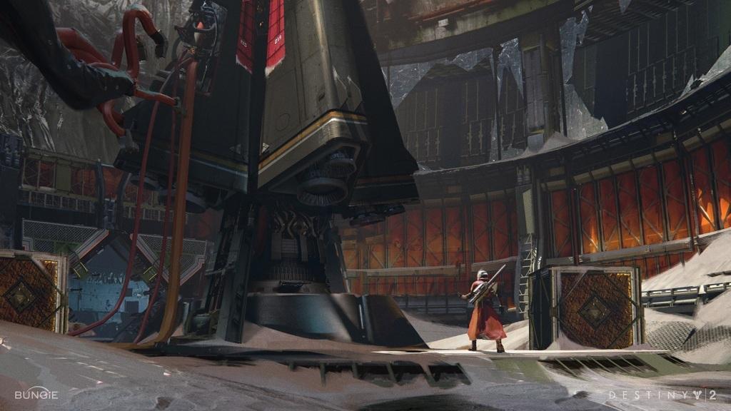 Nejočekávanější hry květen 2018; Destiny 2: Warmind, Wallpaper: stroj