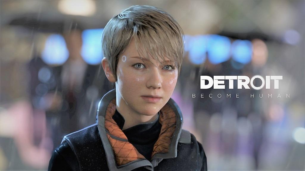 Nejočekávanější hry květen 2018; Detroit: Become Human, wallpaper: Kara