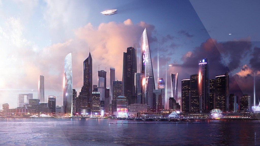 Detroit: Become Human; screenshot: město