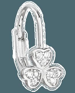 Dětské náušnice - zapínání klapka