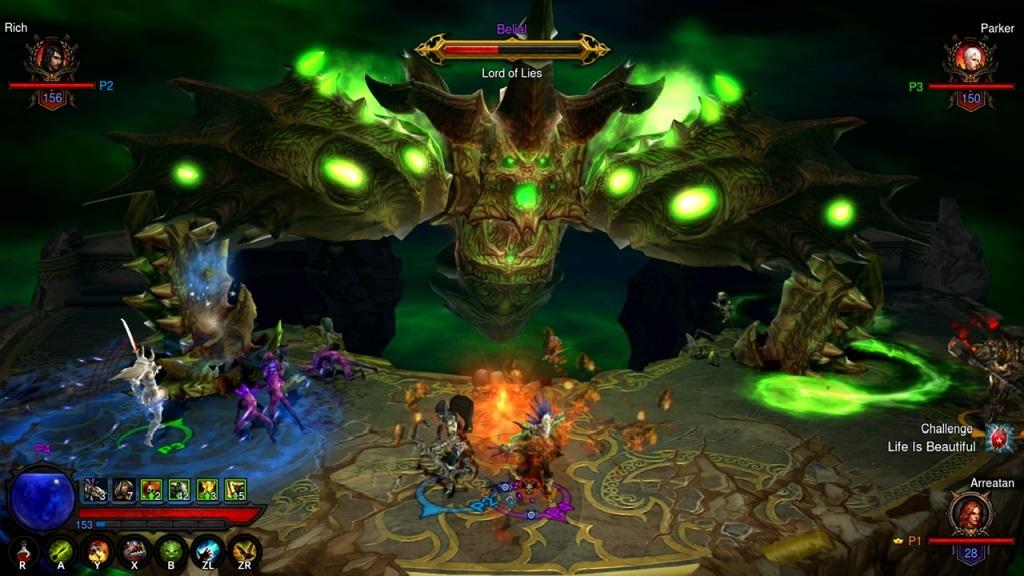 Nejočekávanější hry v listopad 2018; Diablo 3 Eternal Collection, screenshot: Belial