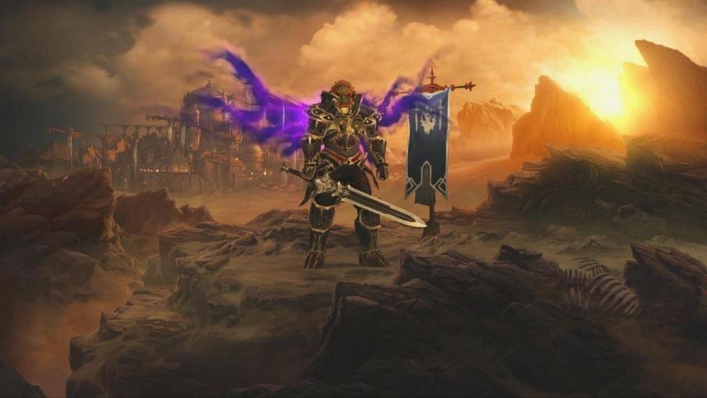 Diablo 3 Switch, Ganondorf brnění