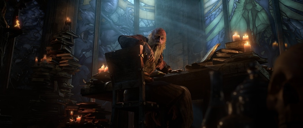 Diablo 3: Eternal Collection; screenshot; Deckard Cain