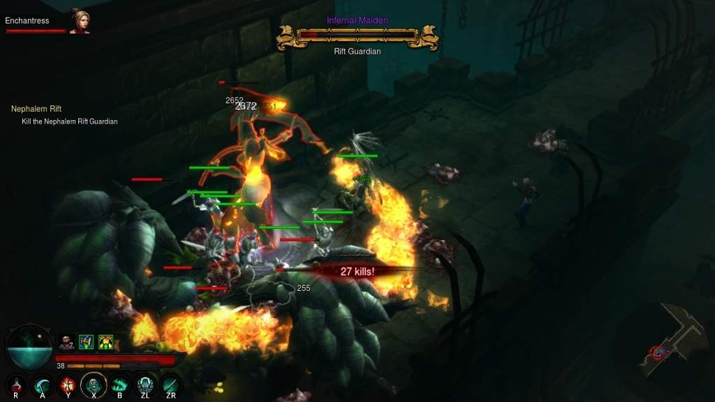 Diablo 3: Eternal Collection; gameplay; rift