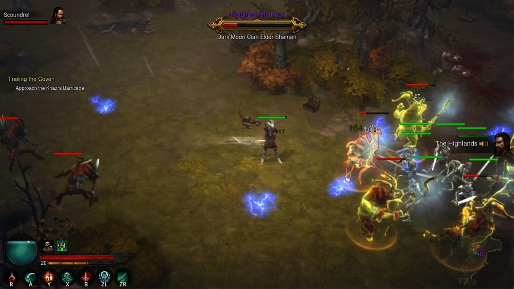 Diablo 3: Eternal Collection; gameplay; switch