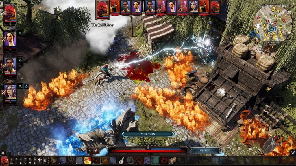 Divinity: Original Sin 2; Gameplay: souboj, kouzla, postava, The Red Prince