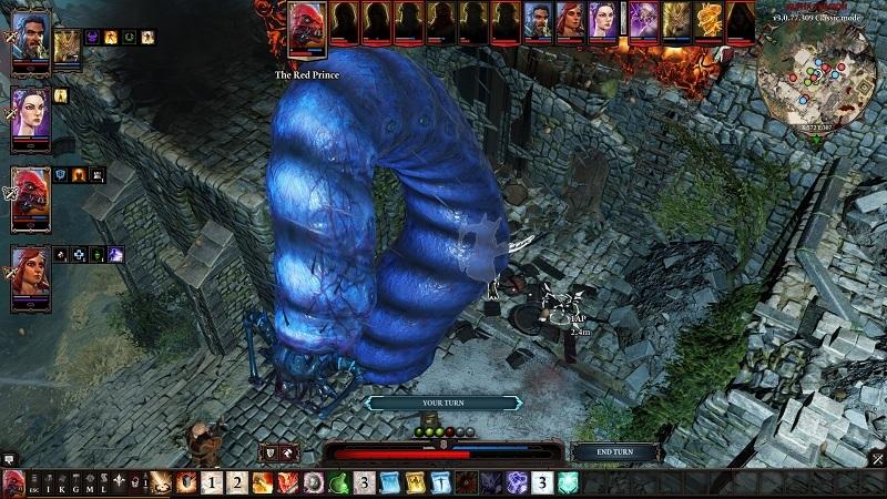 Divinity Original Sin 2; Mega worm